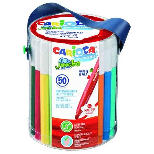 Купить Carioca Фломастеры Jumbo 50 шт. (42312)