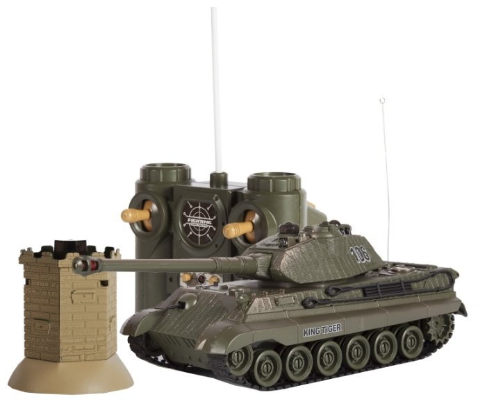 Танк Mioshi Tech Осада Башни Королевский Тигр (MAR1207-032) 1:24 36 см