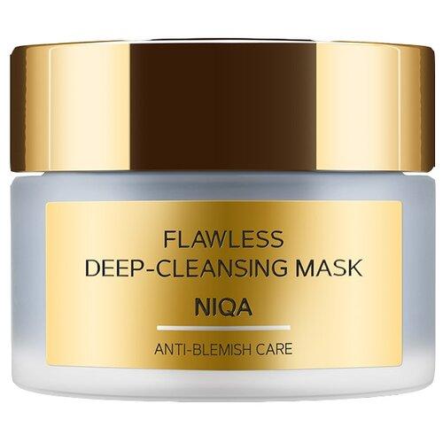 Zeitun Детокс-маска Niqa Flawless, 50 мл zeitun преображающий масляный эликсир niqa для проблемной кожи лица с серебром 30 мл