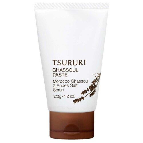 BCL пена-скраб для лица Tsururi ghassoul paste с вулканической глиной 120 г
