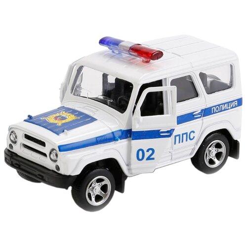 Купить Внедорожник ТЕХНОПАРК УАЗ Hunter Полиция ППС (X600-H09018-R) белый, Машинки и техника