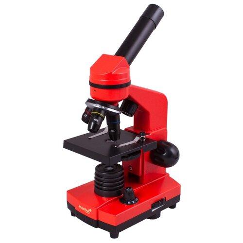 Микроскоп LEVENHUK Rainbow 2L orange микроскоп levenhuk rainbow 2l plus moonstone