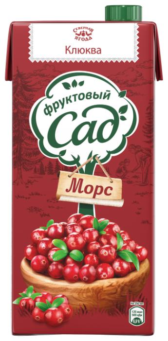 Морс Фруктовый сад Клюква, без сахара