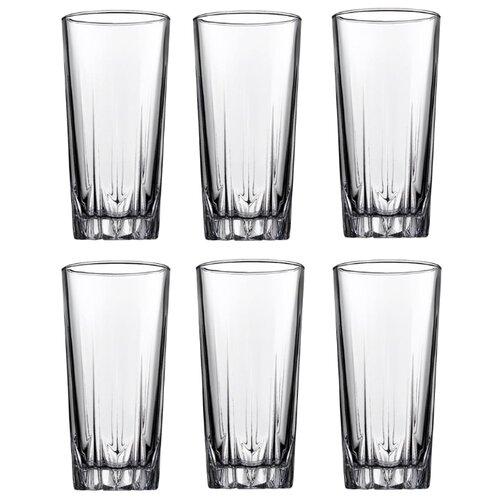Pasabahce Набор стаканов Karat 330 мл 6 шт прозрачный цена 2017