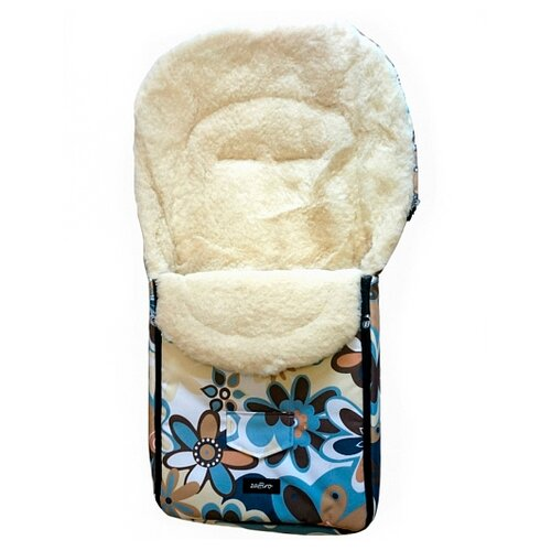 Купить Конверт-мешок Womar North pole в коляску 95 см 16 цветки, Конверты и спальные мешки