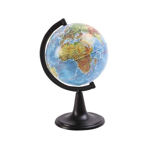 Глобус физический Globen Классик 120 мм (К011200001) черный
