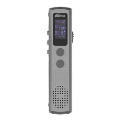 Диктофон Ritmix RR-120 4Gb серебристый