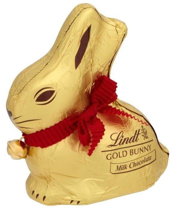 Фигурный шоколад Lindt Пасхальный Кролик Золотой, 100 г