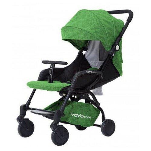Купить Прогулочная коляска Yoya Care 2018 зеленый/черная рама, цвет шасси: черный, Коляски