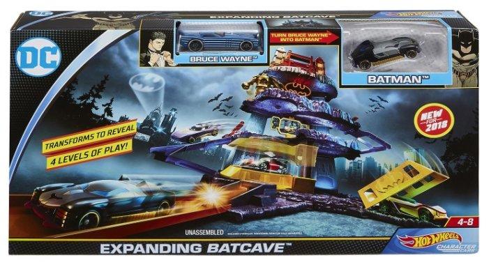 Трек Mattel Hot Wheels Expanding Batcave FLP08