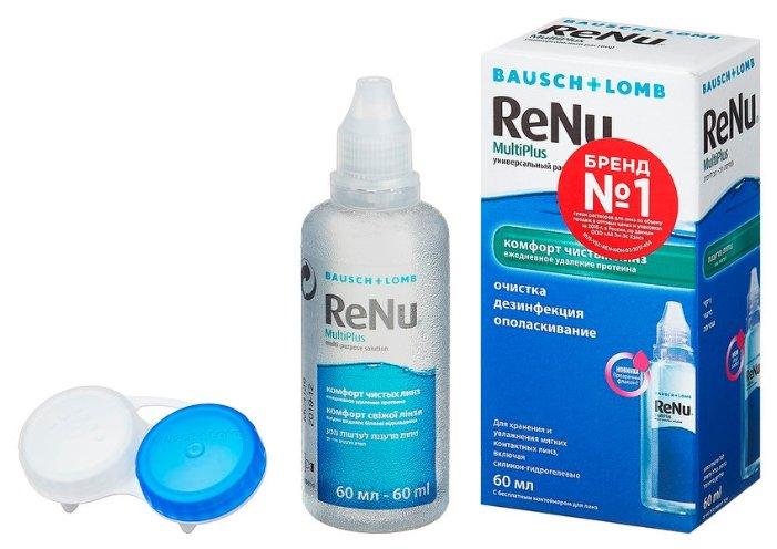 Раствор Renu (Bausch & Lomb) MultiPlus