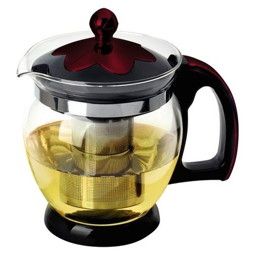 mallony заварочный чайник decotto as 750 0 75 л темно синий Mallony Заварочный чайник Decotto-1200 910112 1,2 л