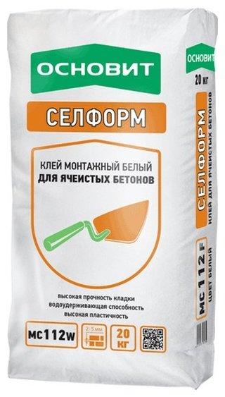 Строительная смесь Основит Селформ MC112 W
