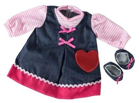 Loko Toys Одежда для куклы девочки Baby Pink 98241
