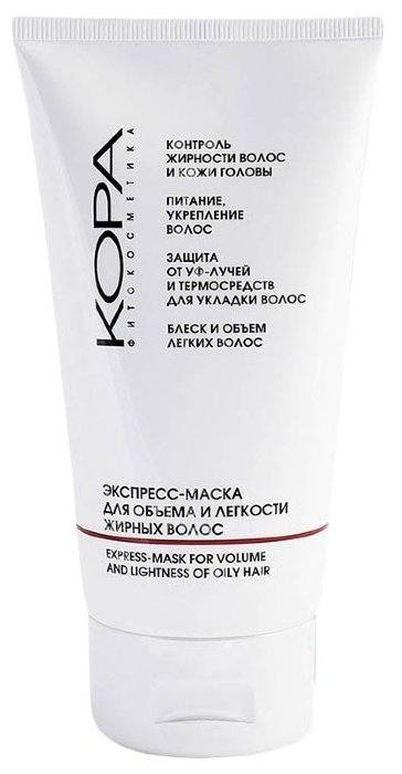 Kora Экспресс-маска для объема и легкости жирных волос
