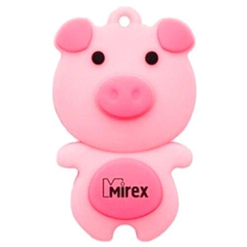 Фото - Флешка Mirex PIG 8GB розовый носки детские гранд цвет розовый 2 пары ycl18 размер 20 22