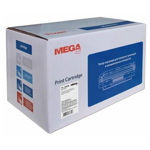 Картридж ProMEGA TK-580M, совместимый картридж kyocera tk 580m 1t02ktbnl0
