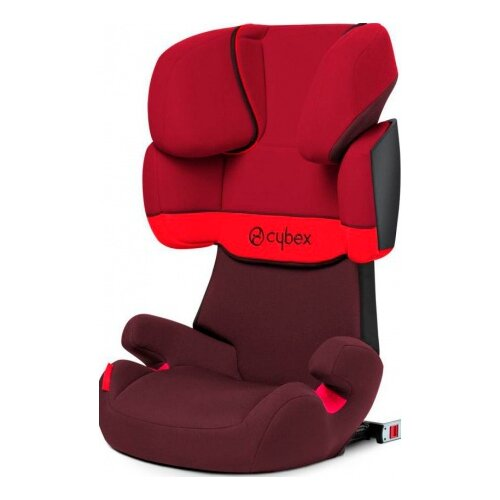 Купить Автокресло группа 2/3 (15-36 кг) Cybex Solution X-fix, Rumba red, Автокресла