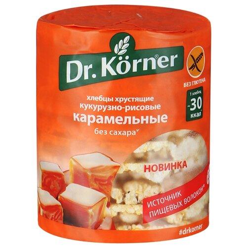 Хлебцы кукурузно-рисовые Dr. Korner карамельные 90 гХлебцы, сухарики<br>