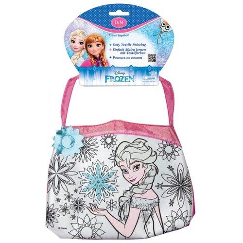 Купить D&M Набор для росписи сумки Эльза с голубым цветком (65071), Роспись предметов