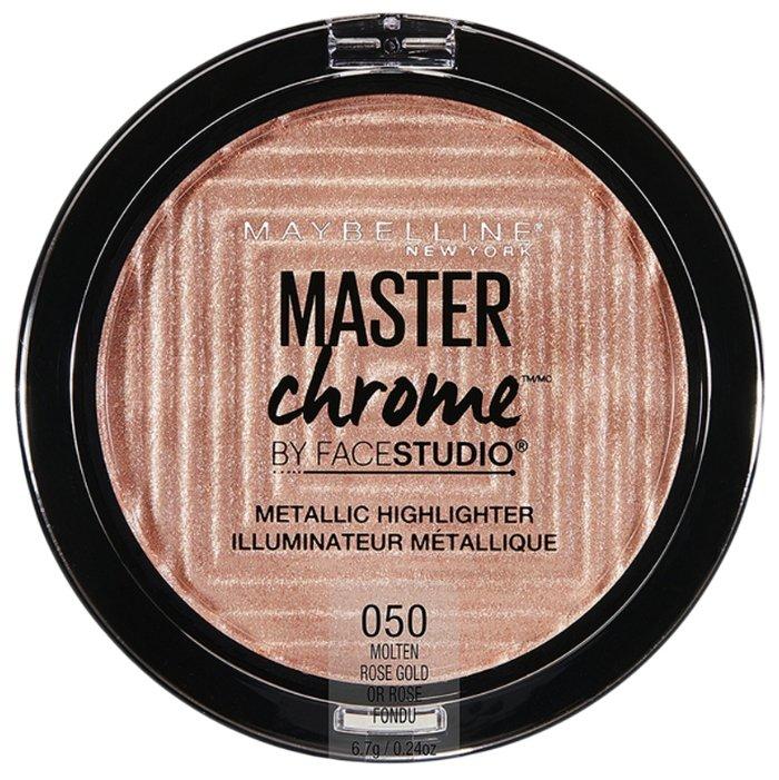 Maybelline New York By Face Studio Хайлайтер Master Chrome Metallic