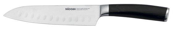 Nadoba Нож сантоку Dana 17,5 см стальной/черный