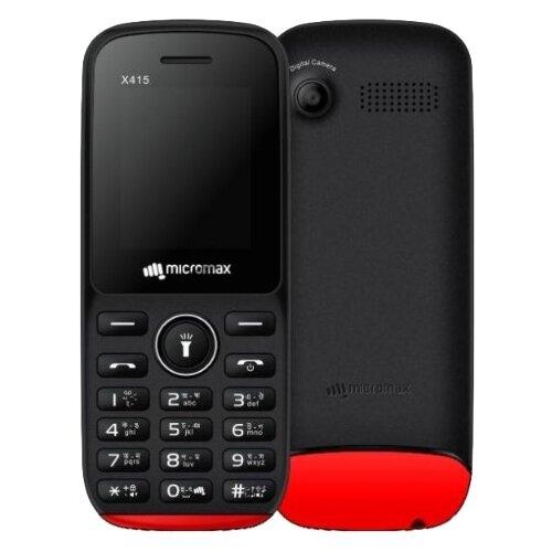 Купить Телефон Micromax X415 черный / красный