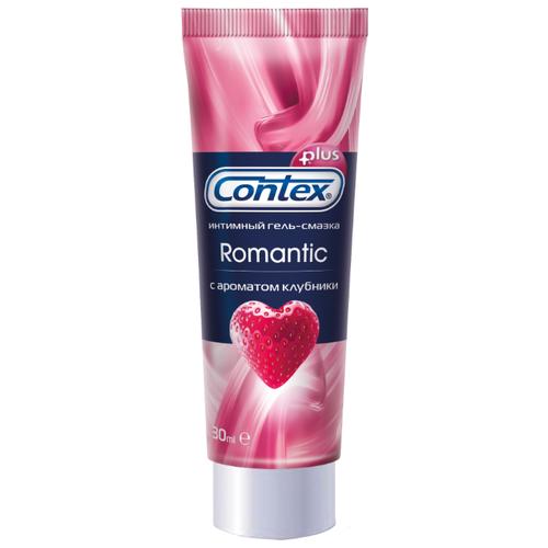 Гель-смазка Contex Romantic с ароматом клубники 30 мл тубаИнтимные смазки<br>
