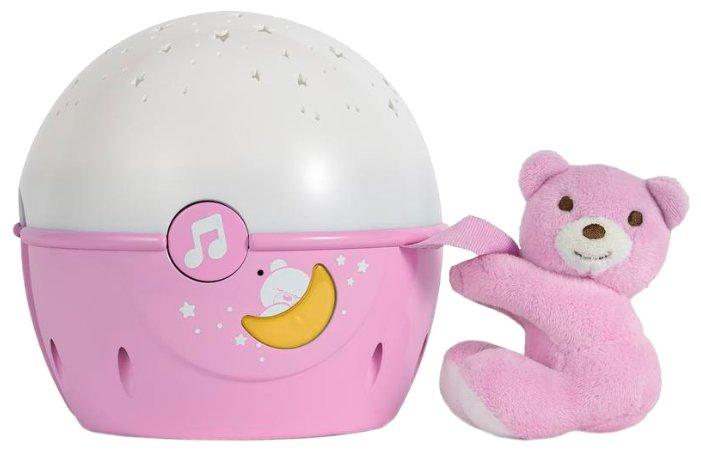 Ночник-проектор Chicco Next-2-Stars (розовая)