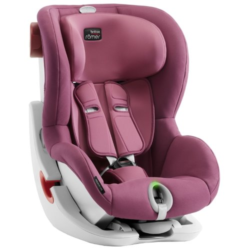 Автокресло группа 1 (9-18 кг) BRITAX ROMER King II LS, Wine Rose автокресло britax romer king ii black series wine rose trendline