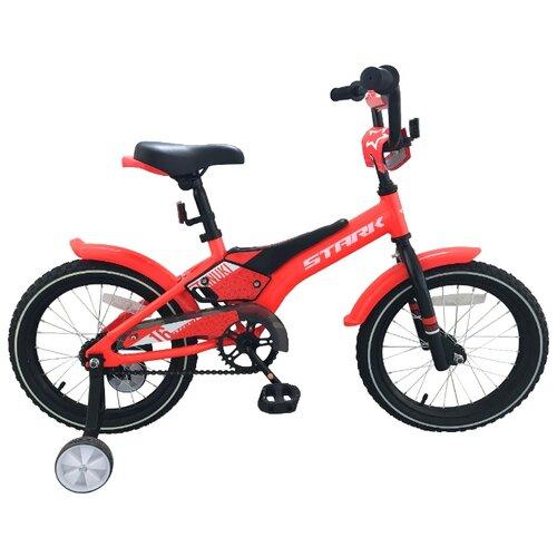 Детский велосипед STARK Tanuki 16 Boy (2019) красный/черный/белый (требует финальной сборки)