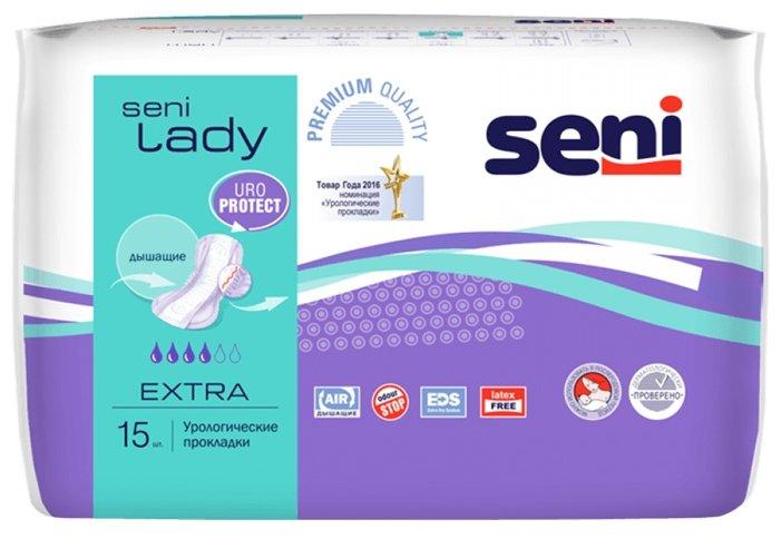 Урологические прокладки Seni Lady Extra SE-095-EX15-RU5 (15 шт.)