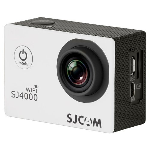 Фото - Экшн-камера SJCAM SJ4000 WiFi белый экшн камера sjcam sj4000 wi fi yellow