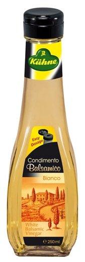Kuhne Condimento Balsamico Bianco уксус бальзамический белый, 250 мл