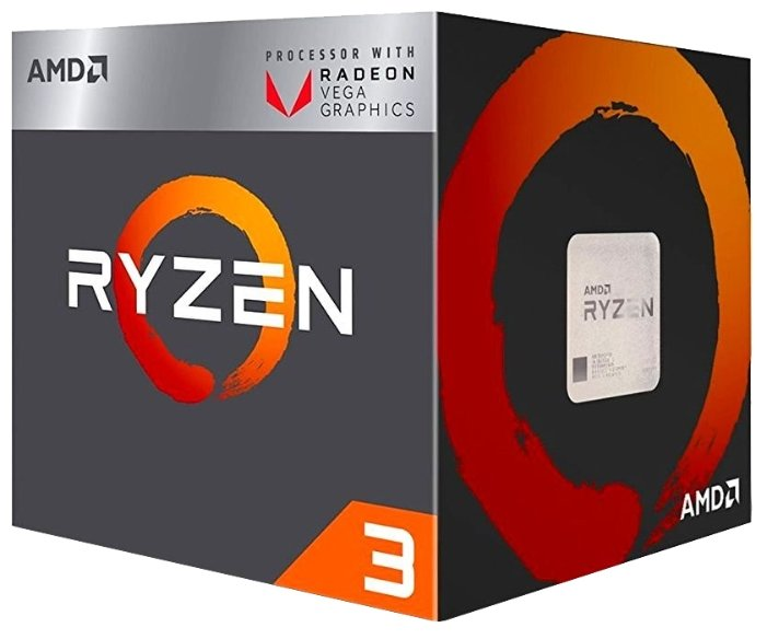 Процессор AMD Ryzen 3 2200G Raven Ridge (AM4, L3 4096Kb) BOX