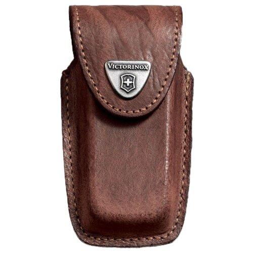 Чехол для ножей 91 мм 5-8 уровней 4.0535 VICTORINOX коричневый чехол victorinox для ножей 91 мм 5 8 уровней с отд для фонаря и точильного камня кожаный чёрный