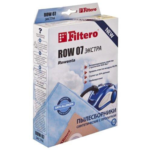 Filtero Мешки-пылесборники ROW 07 Экстра 4 шт. мешок filtero row 05 экстра