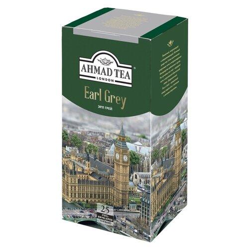 Чай черный Ahmad tea Earl grey в пакетиках, 25 шт.