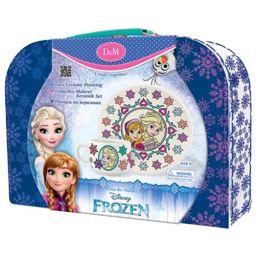 Купить D&M Набор для росписи керамики чайная пара Сестры Frozen (65098), Роспись предметов
