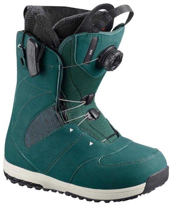 Ботинки для сноуборда Salomon Ivy Boa SJ Deep Teal