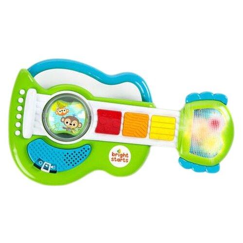 Купить Погремушка Bright Starts Гитара зеленый/голубой, Погремушки и прорезыватели