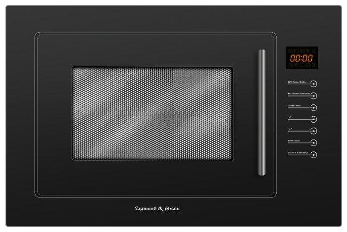 Купить Микроволновая печь встраиваемая Zigmund & Shtain BMO 13.252 B по низкой цене с доставкой из Яндекс.Маркета