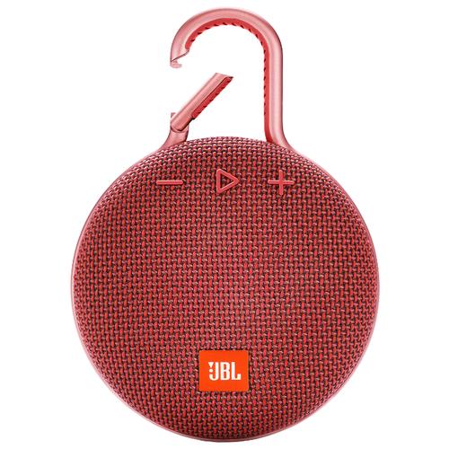Портативная акустика JBL CLIP 3 fiesta red портативная акустика jbl clip 2 черный jblclip2blk
