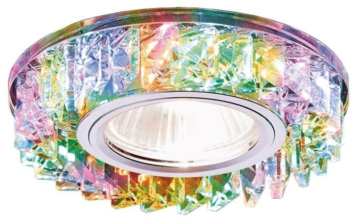 Встраиваемый светильник Ambrella light S255 CH/M, хром/прозрачный