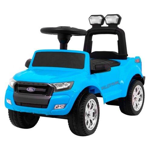 Купить Каталка-толокар RiverToys Ford Ranger DK-P01 со звуковыми эффектами синий, Каталки и качалки