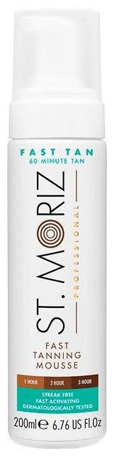 Мусс для автозагара St.Moriz Professional Fast Tanning Mousse