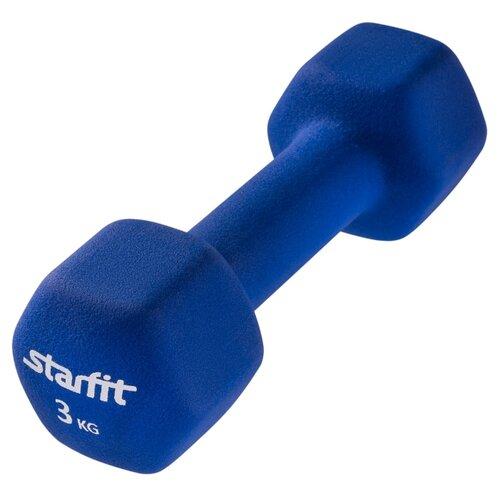 Гантель цельнолитая Starfit DB-201 3 кг