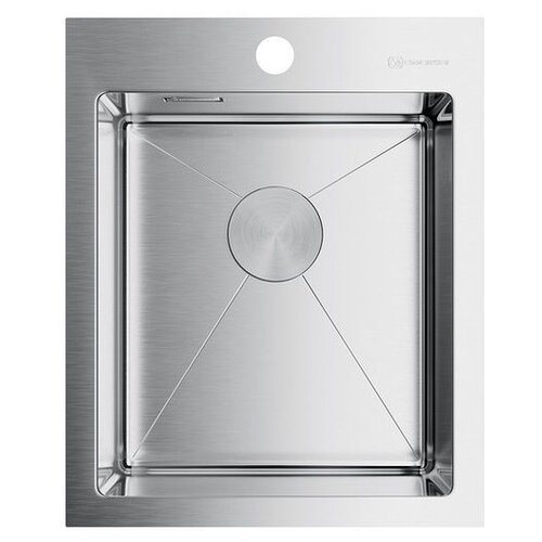 Врезная кухонная мойка 41 см OMOIKIRI Akisame 41-IN нержавеющая сталь врезная кухонная мойка 78 см omoikiri akisame 78 in l нержавеющая сталь