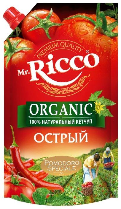 Кетчуп Mr.Ricco Острый дой-пак 350г
