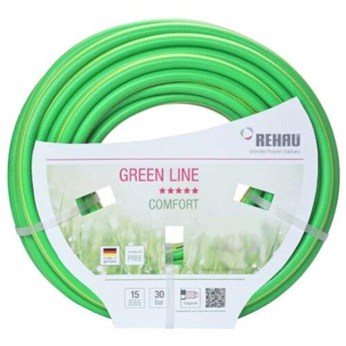 Шланг REHAU GREEN LINE 1/2 50 метров зеленый шланг rehau slide line 1 2 50